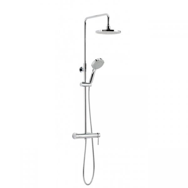 Bộ sen cây tắm đứng nóng lạnh Genebre TAU Model CM65110 18